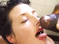 Shorthaired Girl Fucked By A Big Cock