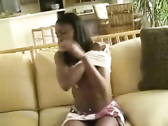 Iman Ebony Teen Surprise Squirt