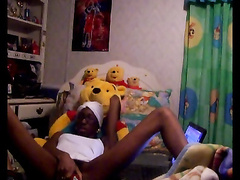 Black Girl - Webcam Show PART 1