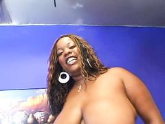 Black BBW Jazzy Likes Anal